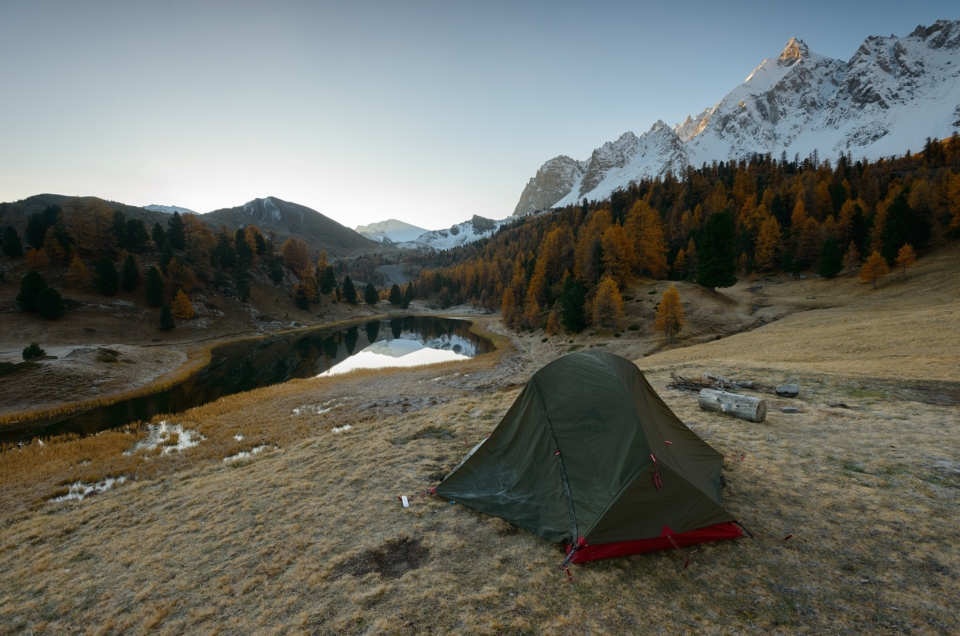 Lac miroir (2215m) – Queyras