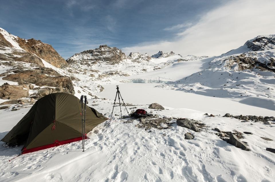 Lac glaciaire du Grand Méan (2850 m) – Alpes Grées