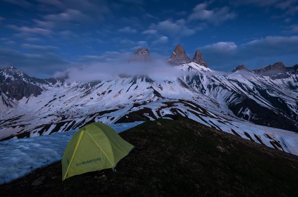 Près de la Basse du Gerbier (2569 m) – Grandes Rousses/Arves