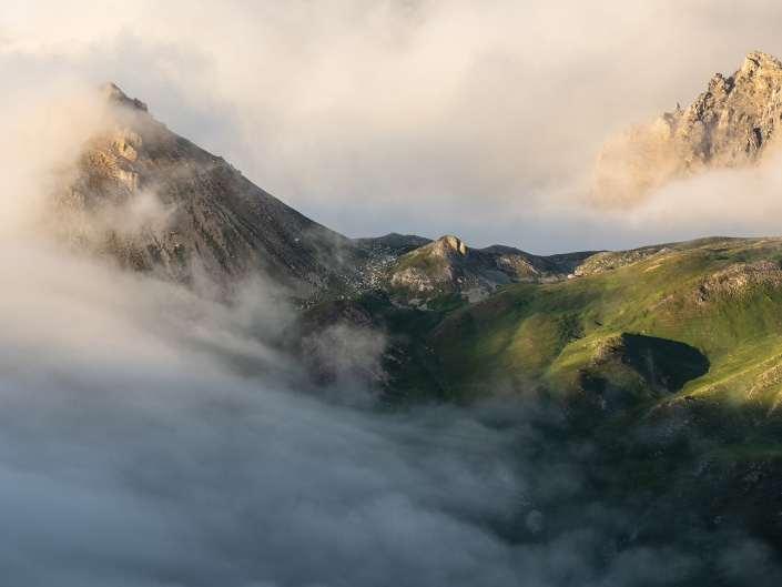 Thabor, Col des méandes, Cerces, Montagne, Mountain, Alpes, Alps