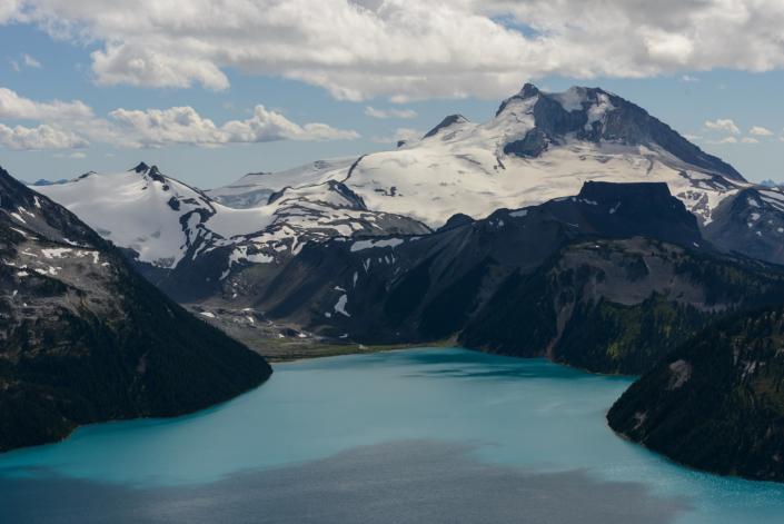 Lac Garibaldi au Canada