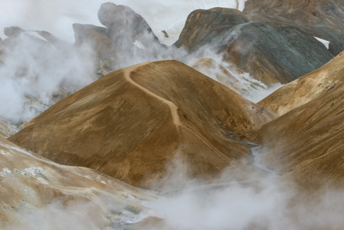 Site de Kerlingarfjöll en Islande