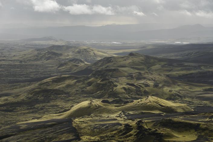 Vue depuis le Laki en Islande