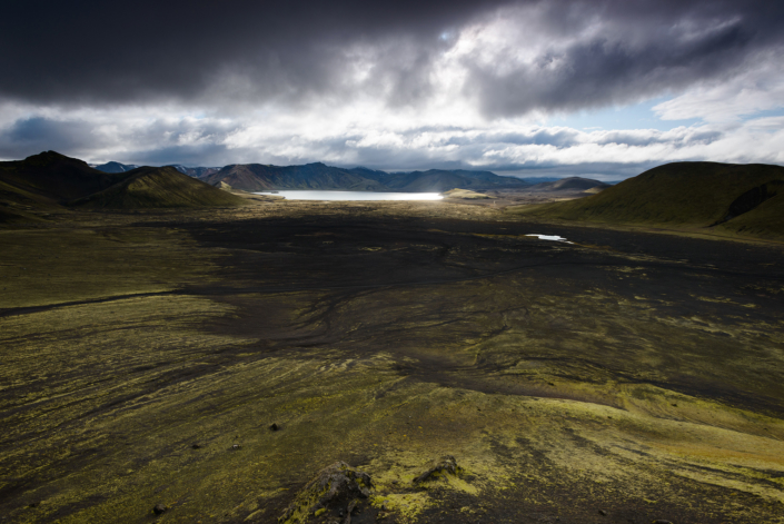 Près du Landmannalaugar en Islande