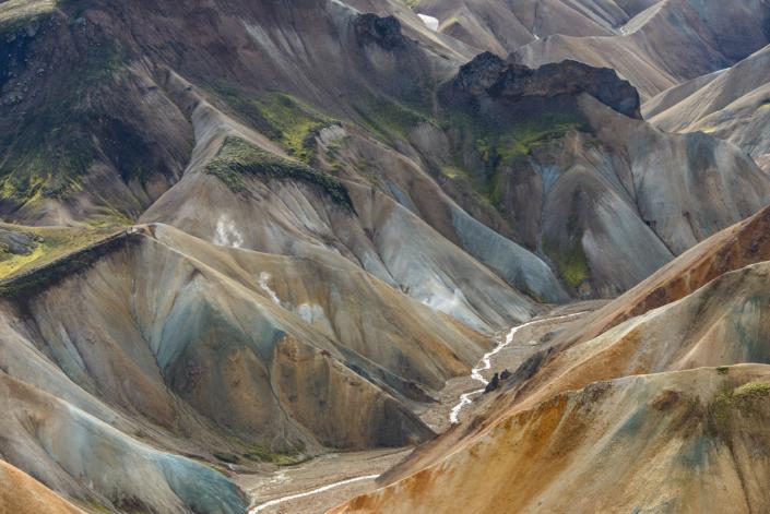 Paysage du Landmannalaugar en Islande