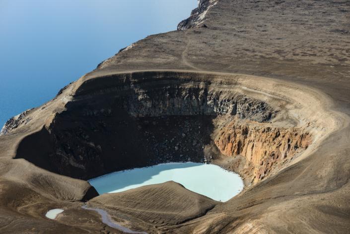Öskjuvatn et Viti en Islande
