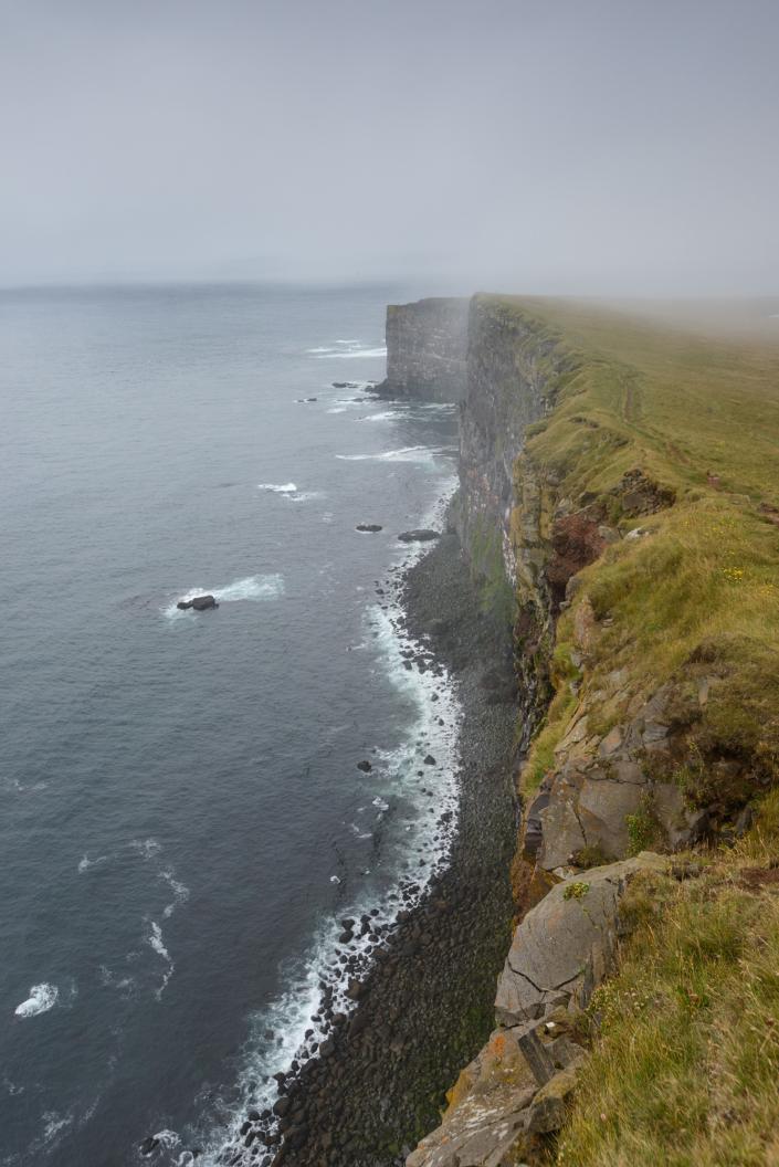 Latrabjarg en islande