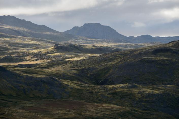 péninsule de Snæfellsnes en Islande